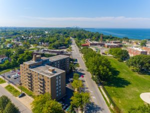 Pet-Friendly Community at Breakwater Tower 1 Apartments in Cleveland, Ohio